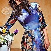 """Одежда ручной работы. Ярмарка Мастеров - ручная работа Платье """"Барокко"""" бархат шелковый. Handmade."""