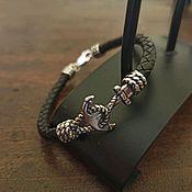 Украшения handmade. Livemaster - original item Bracelet male and female Anchor. Bracelet unisex. Silver 925 sample.. Handmade.