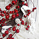 Новый год 2017 ручной работы. Ярмарка Мастеров - ручная работа. Купить Венок ХРАНИТЕЛЬ. Handmade. Рождественский венок, интерьерное украшение