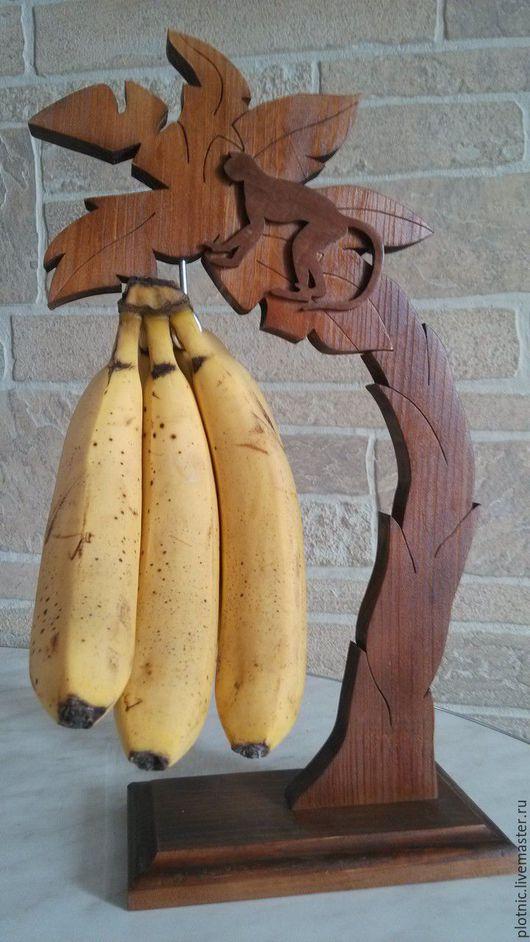 Статуэтки ручной работы. Ярмарка Мастеров - ручная работа. Купить Подставка для бананов. Handmade. Коричневый, подарок на любой случай