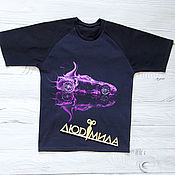 T-shirts handmade. Livemaster - original item T-shirt