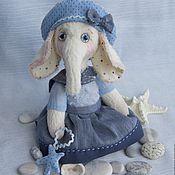 """Куклы и игрушки ручной работы. Ярмарка Мастеров - ручная работа """"Слоняшка с морской звездой"""". Handmade."""