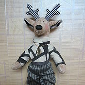 Куклы и игрушки manualidades. Livemaster - hecho a mano La mueca de alce el papa. Handmade.