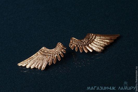 """Серьги ручной работы. Ярмарка Мастеров - ручная работа. Купить Серьги """"Ангелы рядом"""". Handmade. Серьги, серьги крылья"""