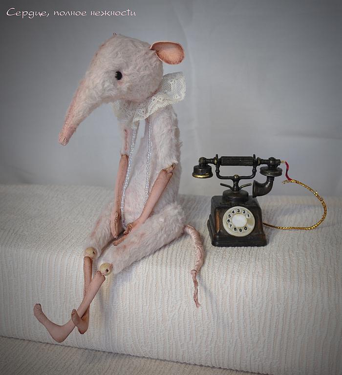 Как сделать игрушку крысу своими руками