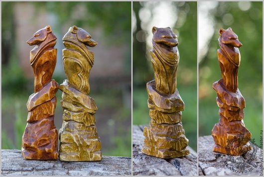 """Статуэтки ручной работы. Ярмарка Мастеров - ручная работа. Купить Явара """"Волк"""". Handmade. Явара, купить явару, дерево, ольха"""