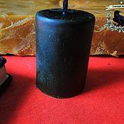 Фен-шуй и эзотерика ручной работы. Ярмарка Мастеров - ручная работа Свеча восковая на снятие негатива. Handmade.