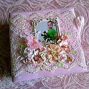 Фотоальбомы ручной работы. Ярмарка Мастеров - ручная работа Альбом с балеринами для девочки ручной работы. Handmade.