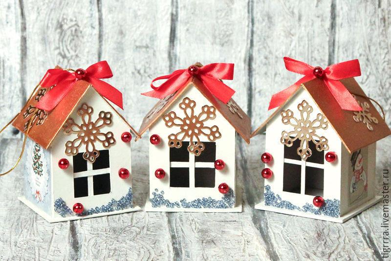 Как сделать новогоднюю игрушку дома