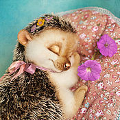 Куклы и игрушки ручной работы. Ярмарка Мастеров - ручная работа Ёжик Майа. Handmade.