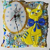 """Для дома и интерьера ручной работы. Ярмарка Мастеров - ручная работа Интерьерный комплект  """"Солнечная кошка"""". Handmade."""