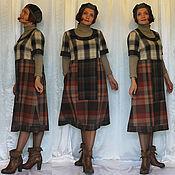 """Одежда ручной работы. Ярмарка Мастеров - ручная работа Платье на подкладке """"Сдержанное и стильное"""". Handmade."""