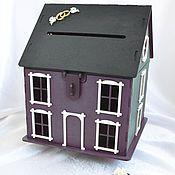 handmade. Livemaster - original item Wedding house Treasury two-color, purple. Handmade.