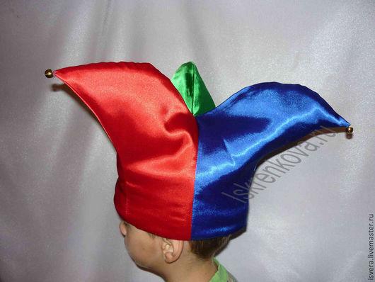 Детские карнавальные костюмы ручной работы. Ярмарка Мастеров - ручная работа. Купить Колпак  скомороха. Handmade. Колпак скомороха, синтепон