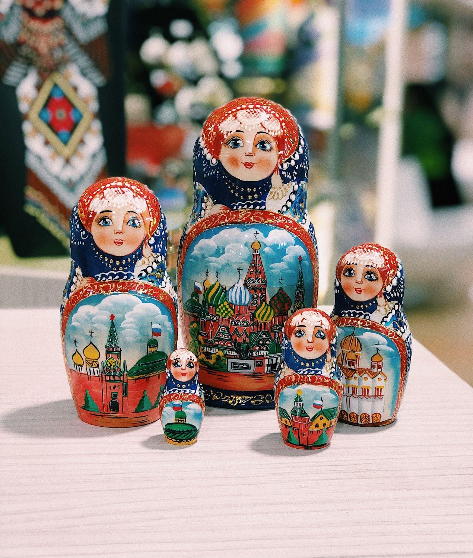 MATRYOSHKA ' MOSCOW», Dolls1, Moscow,  Фото №1