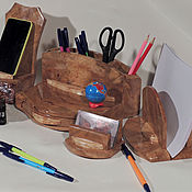 Канцелярские товары handmade. Livemaster - original item Accessories 4 PCs .(rare swill oak). Handmade.