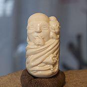 """Куклы и игрушки ручной работы. Ярмарка Мастеров - ручная работа Нэцке """"Монах"""". Handmade."""