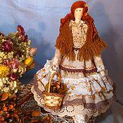 Куклы и игрушки ручной работы. Ярмарка Мастеров - ручная работа Осенняя фея рыжеволосая красавица Кларис. Handmade.