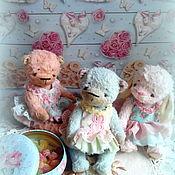 Куклы и игрушки ручной работы. Ярмарка Мастеров - ручная работа мишки конфетки Монпансье. Handmade.