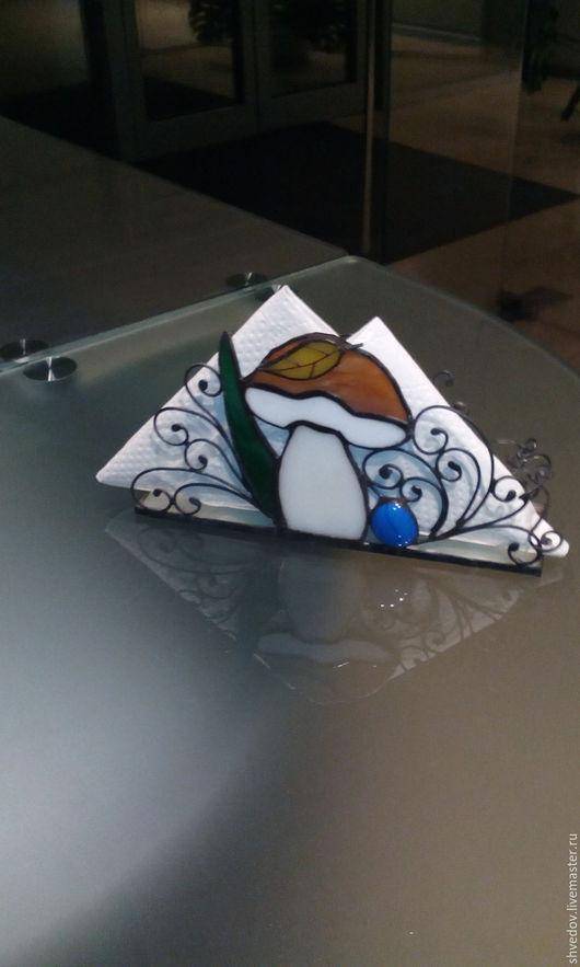 Кухня ручной работы. Ярмарка Мастеров - ручная работа. Купить салфетница. Handmade. Комбинированный, салфетница ручной работы, гриб