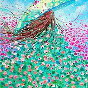 Картины и панно handmade. Livemaster - original item Oil painting on canvas. Blooming spring. Handmade.