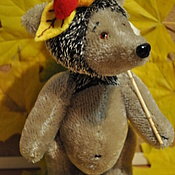 Куклы и игрушки ручной работы. Ярмарка Мастеров - ручная работа Ёжик,с головой и ножками!. Handmade.
