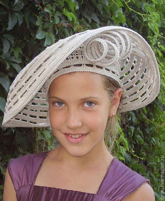 Экстравагантные шляпки мастер класс инструкция #4