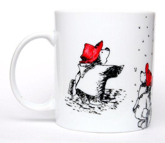 """Кружки и чашки ручной работы. Ярмарка Мастеров - ручная работа. Купить Чашка """"Медвежонок Падди"""" (Мишек много не бывает) (0857). Handmade."""