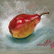 Картины и панно handmade. Livemaster - original item Pear. Handmade.