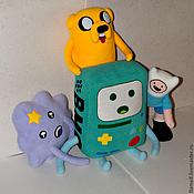 Мягкие игрушки ручной работы. Ярмарка Мастеров - ручная работа Adventure Time BMO большой. Handmade.