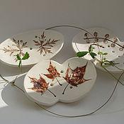 """Для дома и интерьера ручной работы. Ярмарка Мастеров - ручная работа Мыльница """"cепия"""", керамика. Handmade."""