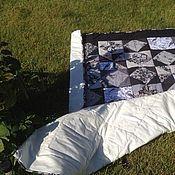 Для дома и интерьера ручной работы. Ярмарка Мастеров - ручная работа лоскутное одеяло Ретро. Handmade.