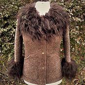 Одежда handmade. Livemaster - original item Felted jacket