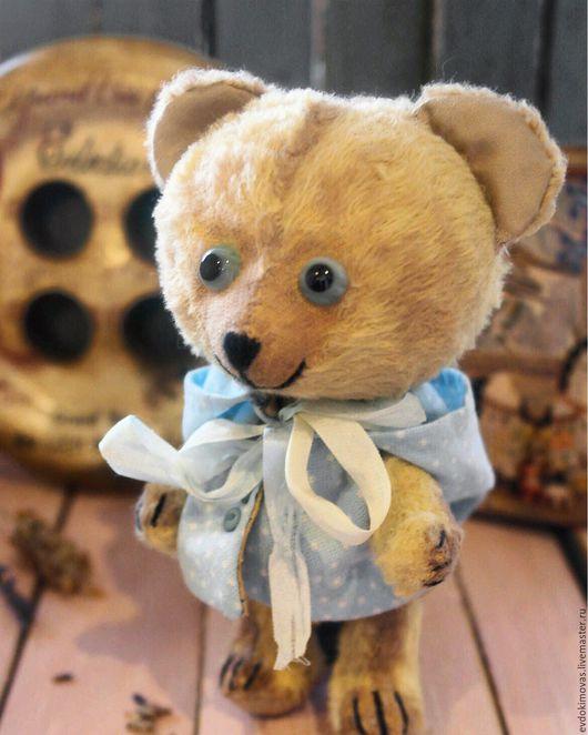 Мишка Тедди, магазин мишек тедди. Мишка Тедди Незабудка (игрушка, мишка тедди, мишка, плюшевый).Светлана Евдокимова. Ярмарка мастеров.