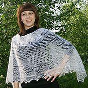 Аксессуары handmade. Livemaster - original item 55 scarf tippet downy Classic, woven, accessories. Handmade.