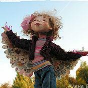 """Куклы и игрушки ручной работы. Ярмарка Мастеров - ручная работа Авторская кукла """"Я как птичка"""". Handmade."""