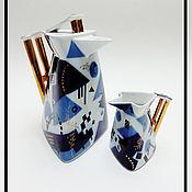 Сервизы винтажные ручной работы. Ярмарка Мастеров - ручная работа Кофейный набор, Чехословакия. Handmade.