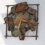 """Для дома и интерьера ручной работы. Ярмарка Мастеров - ручная работа Часы """"Лоскутки"""". Handmade."""
