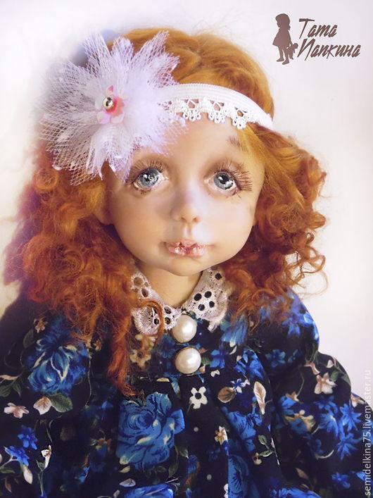 Коллекционные куклы ручной работы. Ярмарка Мастеров - ручная работа. Купить Софья. Handmade. Комбинированный, куклы ручной работы