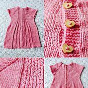 Работы для детей, ручной работы. Ярмарка Мастеров - ручная работа Платье на пуговках. Handmade.