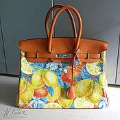Сумки и аксессуары handmade. Livemaster - original item The painted bags.