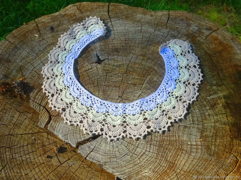 Lace collar No. №45 tri-color, Collars, Bataysk,  Фото №1