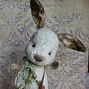 Куклы и игрушки handmade. Livemaster - original item Bunny Teddy Fostik. Handmade.