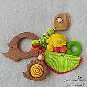 Куклы и игрушки handmade. Livemaster - original item Beech rodent hedgehog with pendants. Handmade.