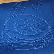 """Для дома и интерьера ручной работы. Ярмарка Мастеров - ручная работа Покрывало """"Колесо"""". Handmade."""