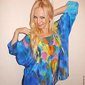 Одежда ручной работы. Ярмарка Мастеров - ручная работа Блуза-Счастье. Handmade.