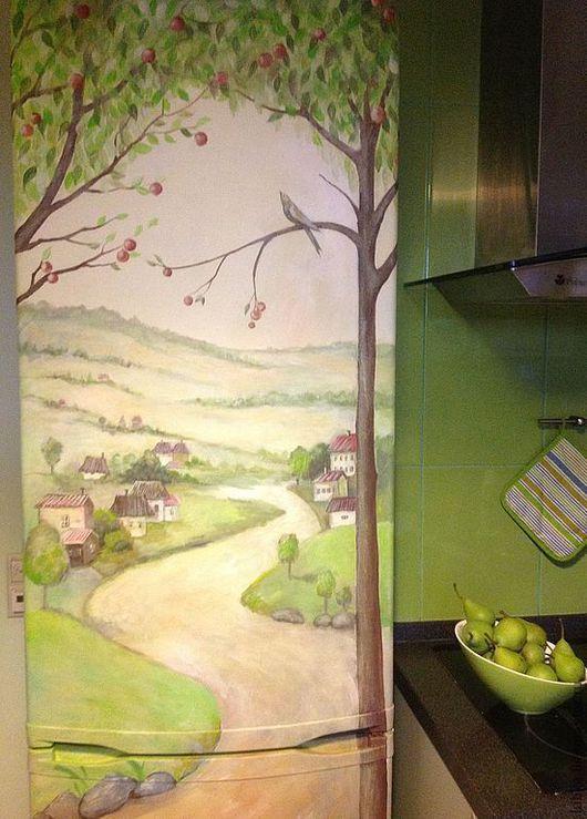 роспись стен, роспись стен холодильник, роспись стен холодильник, роспись стен холодильник, роспись стен техники, роспись стен техники, роспись стен холодильник, роспись стен на заказ, роспись на стен