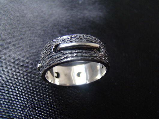 """Кольца ручной работы. Ярмарка Мастеров - ручная работа. Купить Кольцо """"Штопанное"""". Handmade. Серебро, серебряный"""