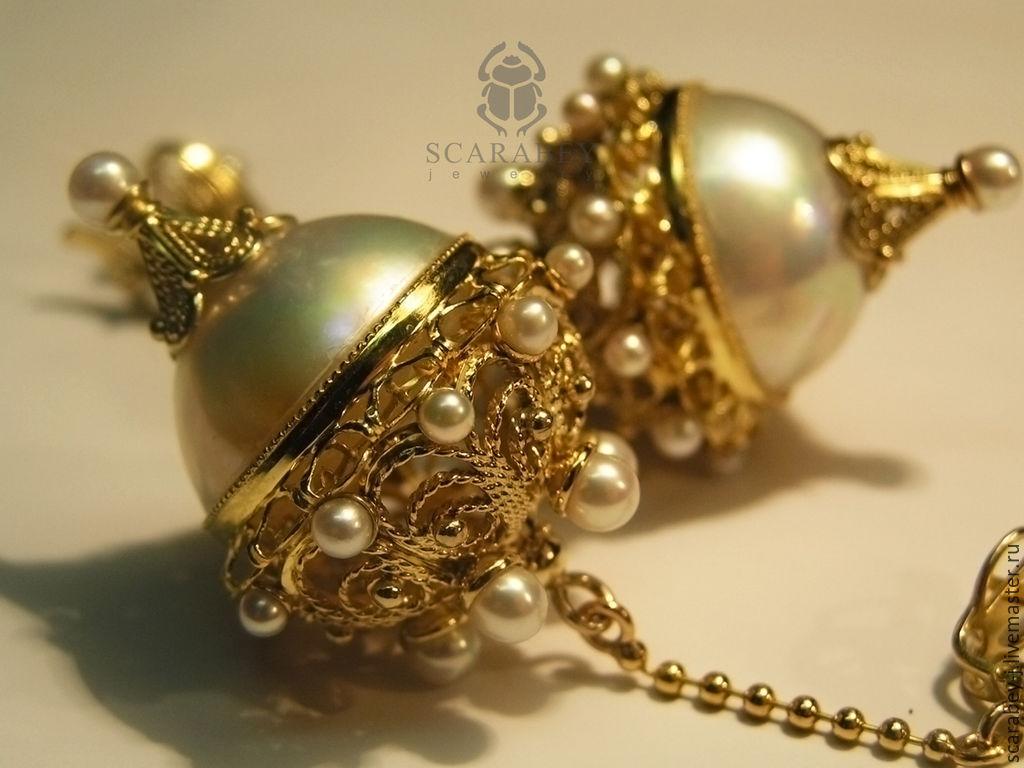 Золотые украшения ручной работы фото