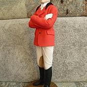 Куклы и игрушки ручной работы. Ярмарка Мастеров - ручная работа Коллекционная    портретная кукла Жокей. Handmade.